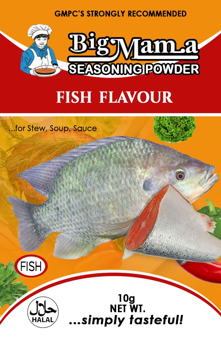 Fish-flavour